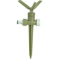 Спринклер роторный тройной без регулировки полива (пластик)