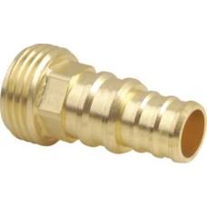 Адаптер  латунный, диаметр наружной резьбы 3/4 дюйма, (универсальный)
