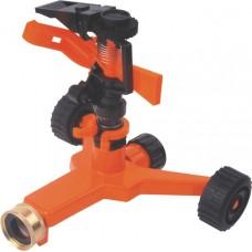Спринклер импульсный платформа на колесах (пластик, латунь)