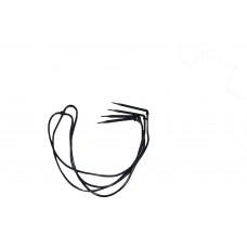 Капельница (четыре стрелы) для систем капельного полива - спица угловая