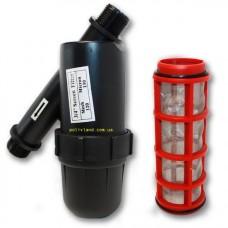 Фильтр сетчатый 1 дюйм (капельный полив), (5м3/ч)