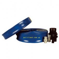 Рукав LAY FLAT для систем капельного полива, 2 дюйма, 4-5 Bar, 100 м