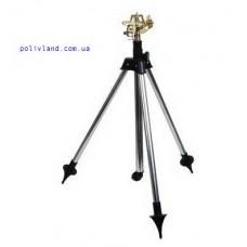 Спринклер импульсный, секторный на телескопической подставке (латунь)
