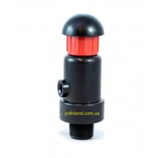 Клапан воздушный для систем капельного полива 3/4 дюйма (наружная резьба)