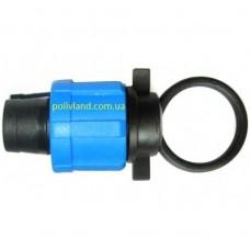 Заглушка для капельной ленты в системах капельного полива