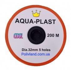 Шланг распыляющий туман AQUA-PLAST (Golden Spray), диаметр 32 мм, ширина полива 6 м, 200 м